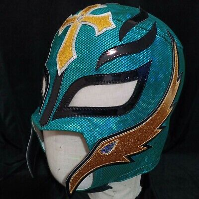 Wrestling mask WWE 619  Rey Mysterio (Free mask display stand)