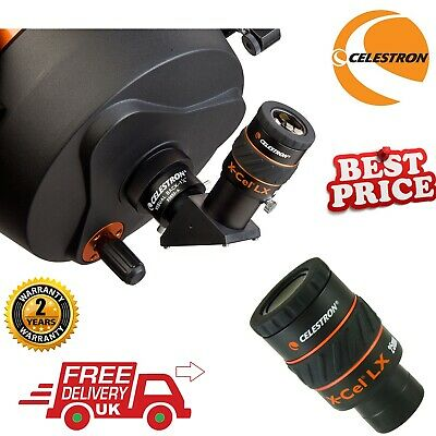 Celestron X-Cel 25mm LX Eyepiece 93426 (UK Stock)