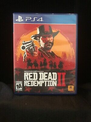 Red Dead Redemption II Sony Playstation 4 PS4