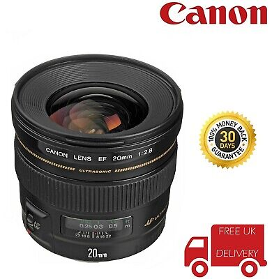 Canon EF 20mm F2.8 USM Lens 2509A003 (UK Stock)