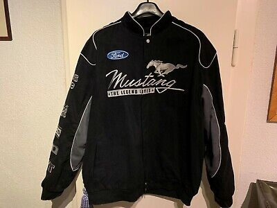 Ford  Mustang  Jacket  Black Twill  Cotton Jacket (by JH Design New)