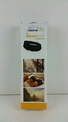 Tempur-Pedic Sleep Mask Eye Cover Blindfold Travel Relax Rest Eyepatch Shield
