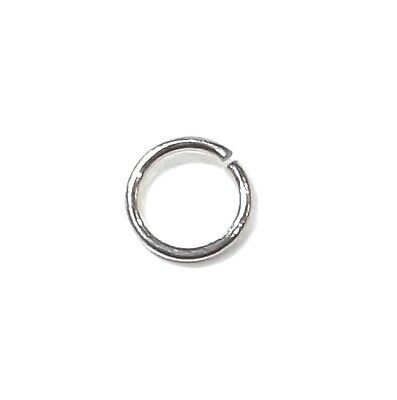 925 Sterling Silver Jump Ring,Open. 0.60mmx5mm