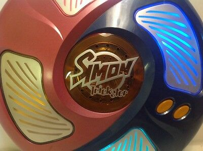 Simon Trickster Large Full-Size Tabletop Electronic Memory Game 2005 Used Manual