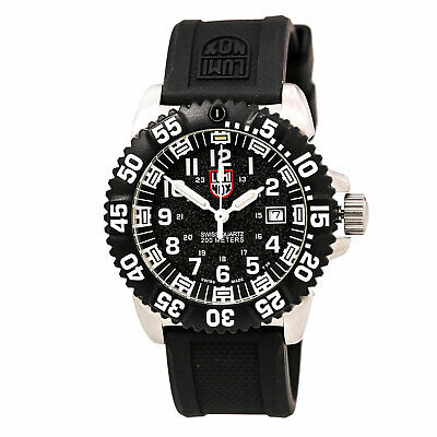 Luminox 3151 Men's Colormark Black Dial Rubber Strap Watch