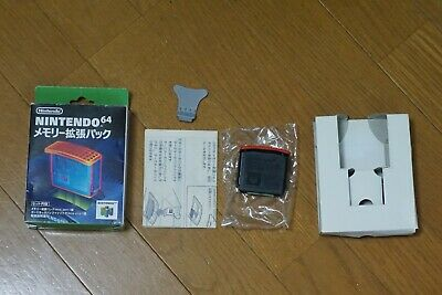 Nintendo 64 Memory Expansion Pak Tested! Works Great! Boxed! Complete!