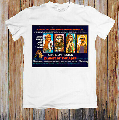 Planet Of The Apes 1960s Retro Movie Poster Unisex T Shirt