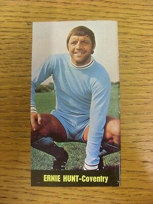 1969/1970 Football Pictorial Cut-Out: 60 Super Strikers - Coventry City - Hunt,
