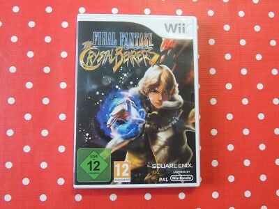 Final Fantasy the Crystal Bearers Nintendo Wii in OVP mit Anleitung
