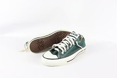 VTG NEW CONVERSE Mens 6 Womens 8 Chuck Taylor All Star Lo Top Shoes Green USA