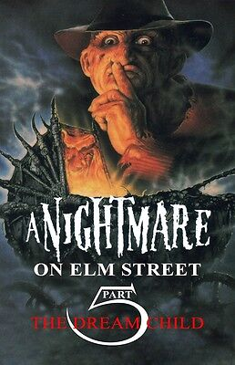 A Nightmare On Elm Street poster (a) 11 x 17 inches  - Part 5 The Dream Child