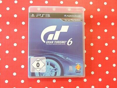 Gran Turismo 6 Playstation 3 PS3 in OVP mit Anleitung