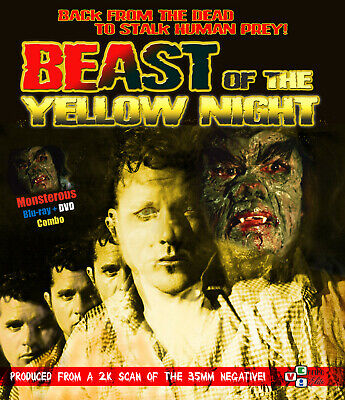 Beast Of The Yellow Night Blu Ray + DVD VCI Entertainment 1971 Eddie Romero