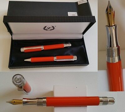 Laban PF-700 fountain pen &ballpoint pen yellow-blue-red-orange-green-bordeaux