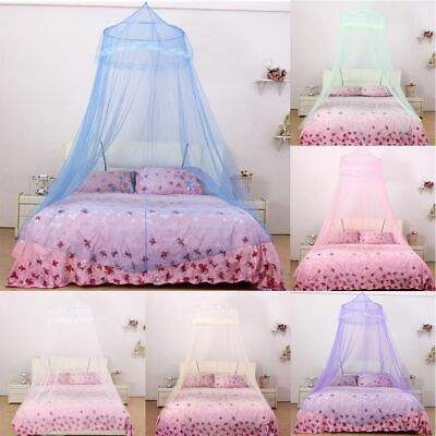 Hanging Bed Netting Canopy Baby Crib Princess Children Dome Lace Mosquito Net