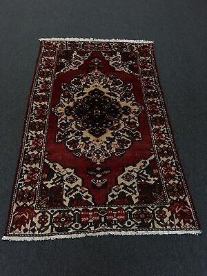 "Sale Semi Antique Hand Knotted Bakhtiar Persian Rug Traditional Carpet 4'2""x6'8"""