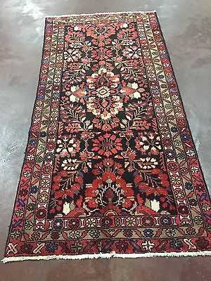 "On Sale Great Semi Antique Hand Knotted Persian Floral Rug Carpet 3x7,3'3""x6'8"