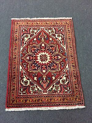 "On Sale  Excellent Hand Knotted Persian Gharajeh Rug Geometric Carpet 2'5""x3'4"""