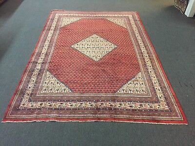 """On Sale Great Semi Antique Hand Knotted Persian-Sarouk Area Rug Carpet 7'4""""x10'8"""
