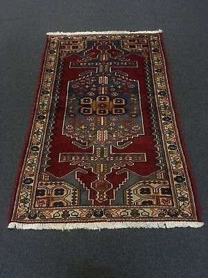 On Sale Semi Antique Traditional Hand Knotted Persian Mahal Rug Carpet 4'x6'3""