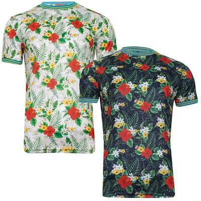 Mens Fun Print Hawaiian Brave Soul T- Shirts