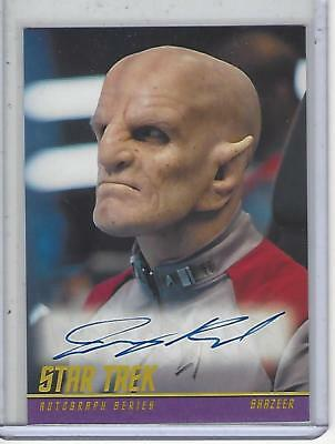 Star Trek Beyond Movie (2017) Jeremy Raymond autograph