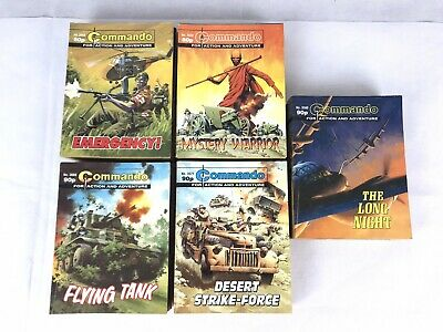 50 x Commando Comics - Action & Adventure - Bundle Job Lot - #3000s