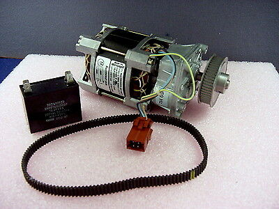 New, Unused Powerful 115Vac Capacitor Motor W/Gearhead Reducer From Ebm/Pabst