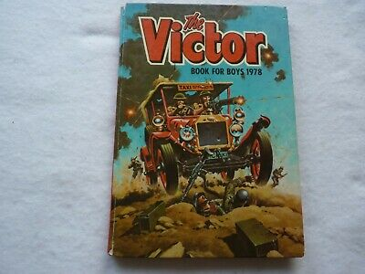 VICTOR BOOK For BOYS Annual 1978 VINTAGE Unclipped