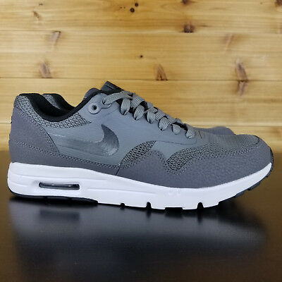 661ae57894 Nike Womens Air Max 1 Ultra Essentials Running Shoes 704993-005 Sz 8.5 Grey