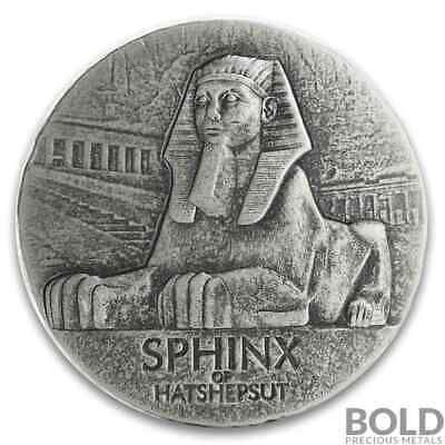 5 oz Republic of Chad Sphinx of Hatshepsut 2019