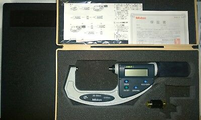 Mitutoyo 293-667 ABSOLUTE Digimatic Micrometre, Quick Mike, 25 mm-55 mm