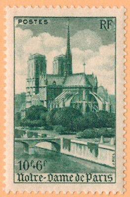 1947 - Timbre France Neuf**Cathedrale Notre Dame De Paris - Stamp N°776