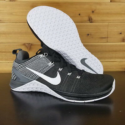 25a1f57450c56 NEW NIKE METCON DSX Flyknit 2 - 924423-045 Black Thunder Blue Hyper ...
