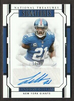 more photos a93fb b647a NY GIANTS #21 Landon Collins Red Jersey Size 44 New With ...
