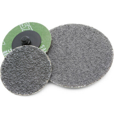 """Kimball Midwest Quik Lok 2"""" Dark Fire Grinding Discs 36 Grit (Qty 25) 87-1911"""