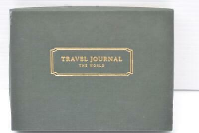 National Geographic The World Travel Journal Leather Cover New {78938B25}