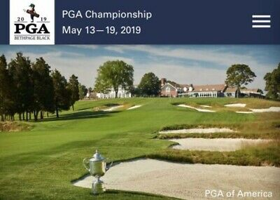 2- 2019 PGA Championship Wannamaker Club tickets Saturday Round SOLD OUT!!!