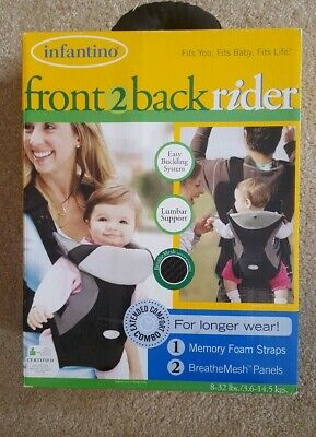 037217ac0cf INFANTINO FRONT TO back baby rider carrier sling -  18.00