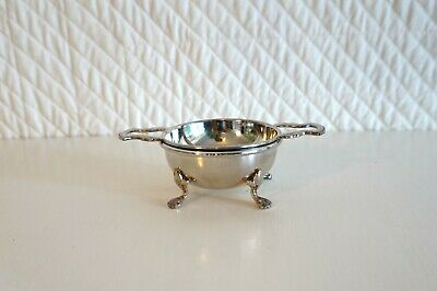 Vintage Strachan EPNS Silver Plated Tea Strainer and Stand