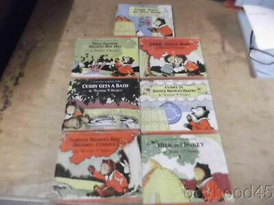 "Group of 7 Thornton Burgess ""Cubby Bear"" Stories--DUST COVERS-1929-VERY SCARCE"