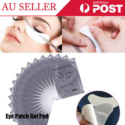100 Pairs Lint Under Eye Patch Gel Pad Patches for Eyelash Extensions Supply pad