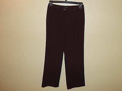 NWT NYDJ Not Your Daughters Jeans Dress Pants sz 6P P1147 Womens Brown Career