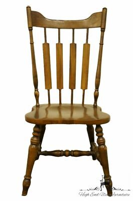 TEMPLE STUART Rockingham Solid Hard Rock Maple Cattail Back Dining Side Chair...