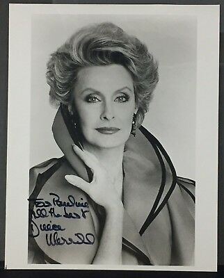 Signed Autograph And Headshot Photo Set The Player Buy Now Dina Merrill