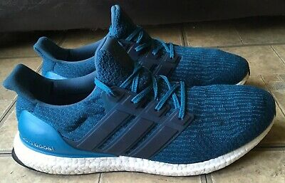 buy popular 2973d f28e5 Adidas Ultra Boost 3.0 Petrol Night Mystery Blue Running Shoes S82021 Men  Sz 13