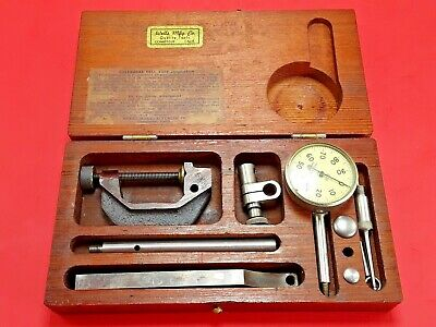 Vintage Wells Mfg Co Universal Dial Indicator Set - Made USA