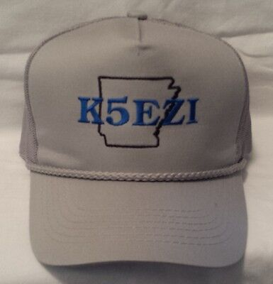 3e11054c67a42 Ham Radio TRUCKER Hat Call Sign hats Amateur Radio Hat Fathers Day gift
