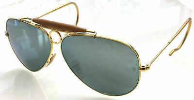 cfac7197632912 Ray Ban 3138 58 Shooter Gold Gold bar Racoon Remix 30 Silver Mirror Mirror