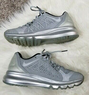 big sale f908a 00348 Nike Air Max 2015 Reflective Running shoes Women s US 7.5 Silver 709014-001